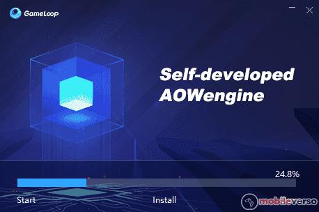 instalar game loop emulador