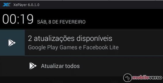 atualizar xeplayer - atualizações disponíveis