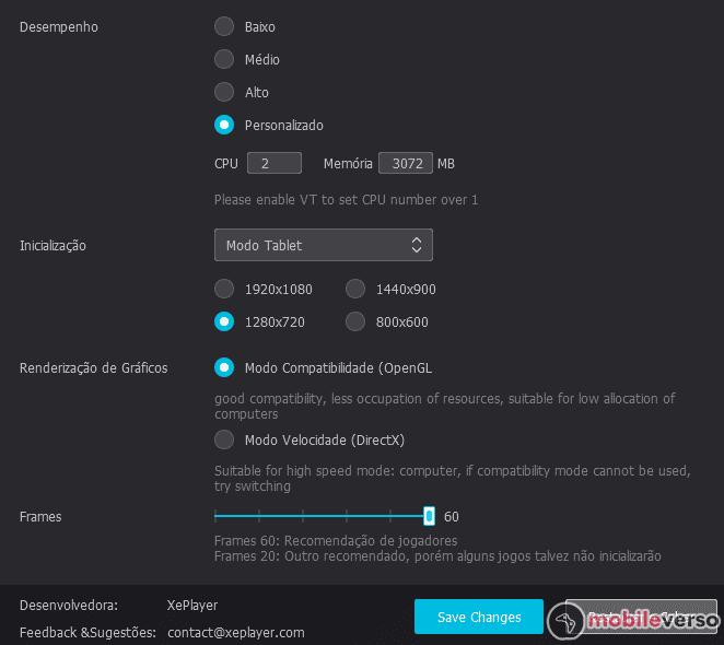 como configurar xeplayer para Free Fire