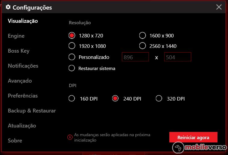 como configurar o emulador msi app player