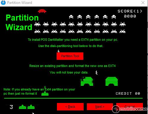 partitiontool Emuladores