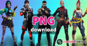 Personagens PNG Free fire