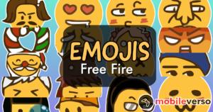 Emojis chat free Fire