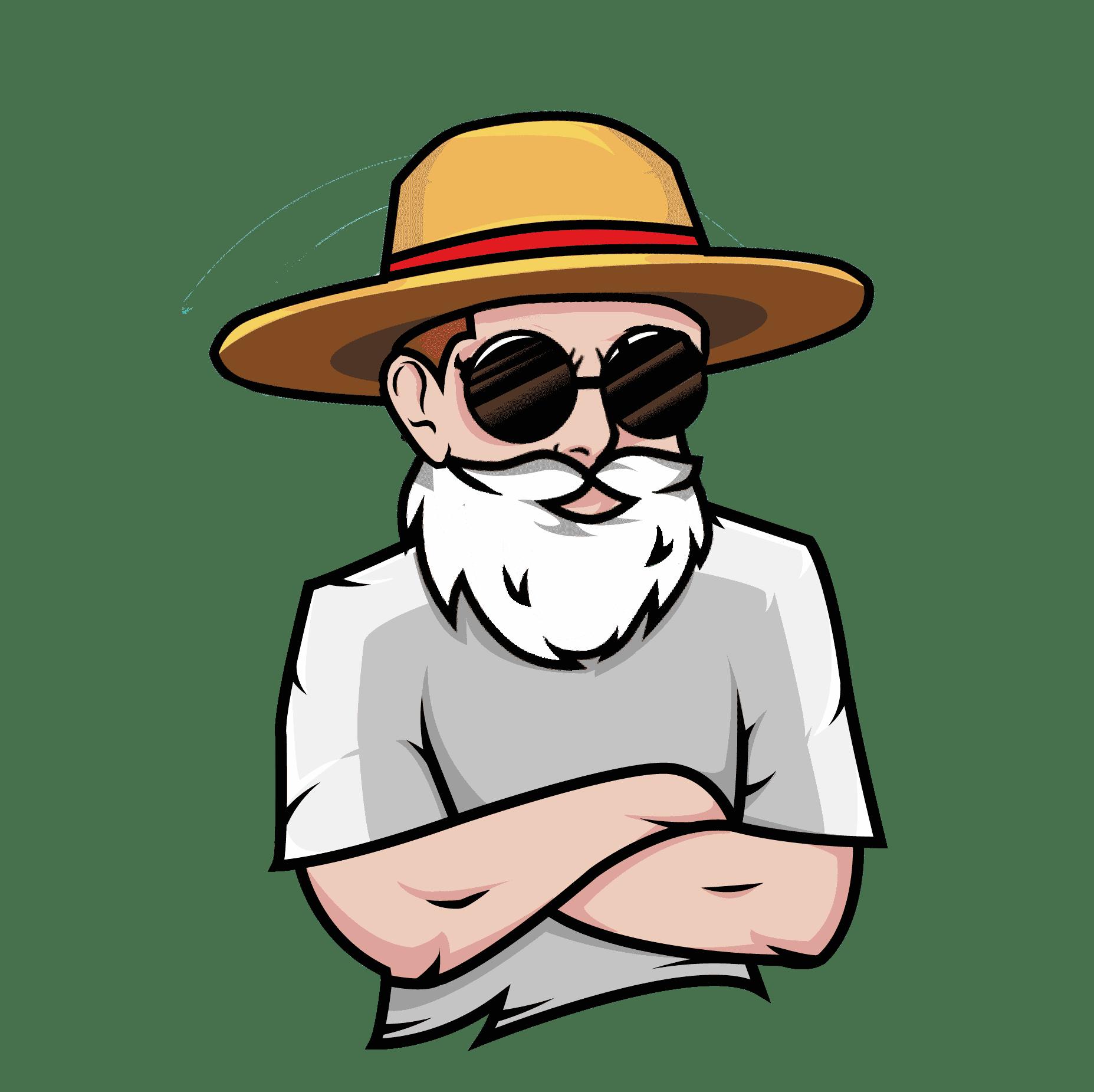 barba palha 2 Free Fire