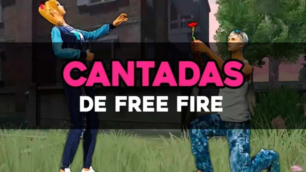 cantadas de free fire