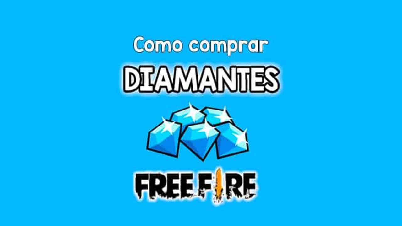 como comprar diamantes no free fire