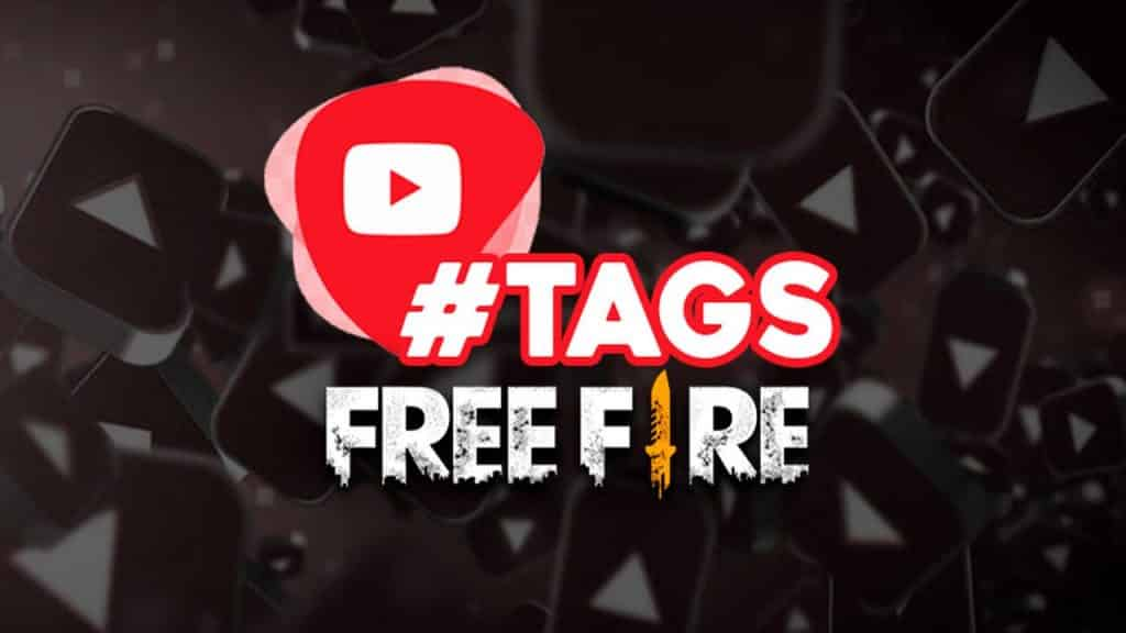 tags de free fire para youtube e instagram