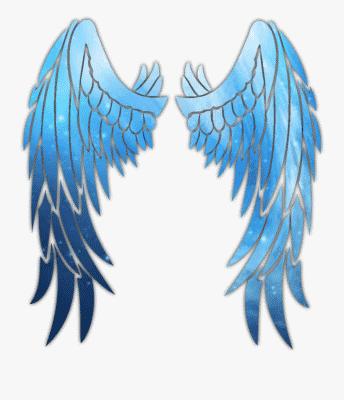 215 2152613 green blue neon glowing wings swirl spiral blue Free Fire