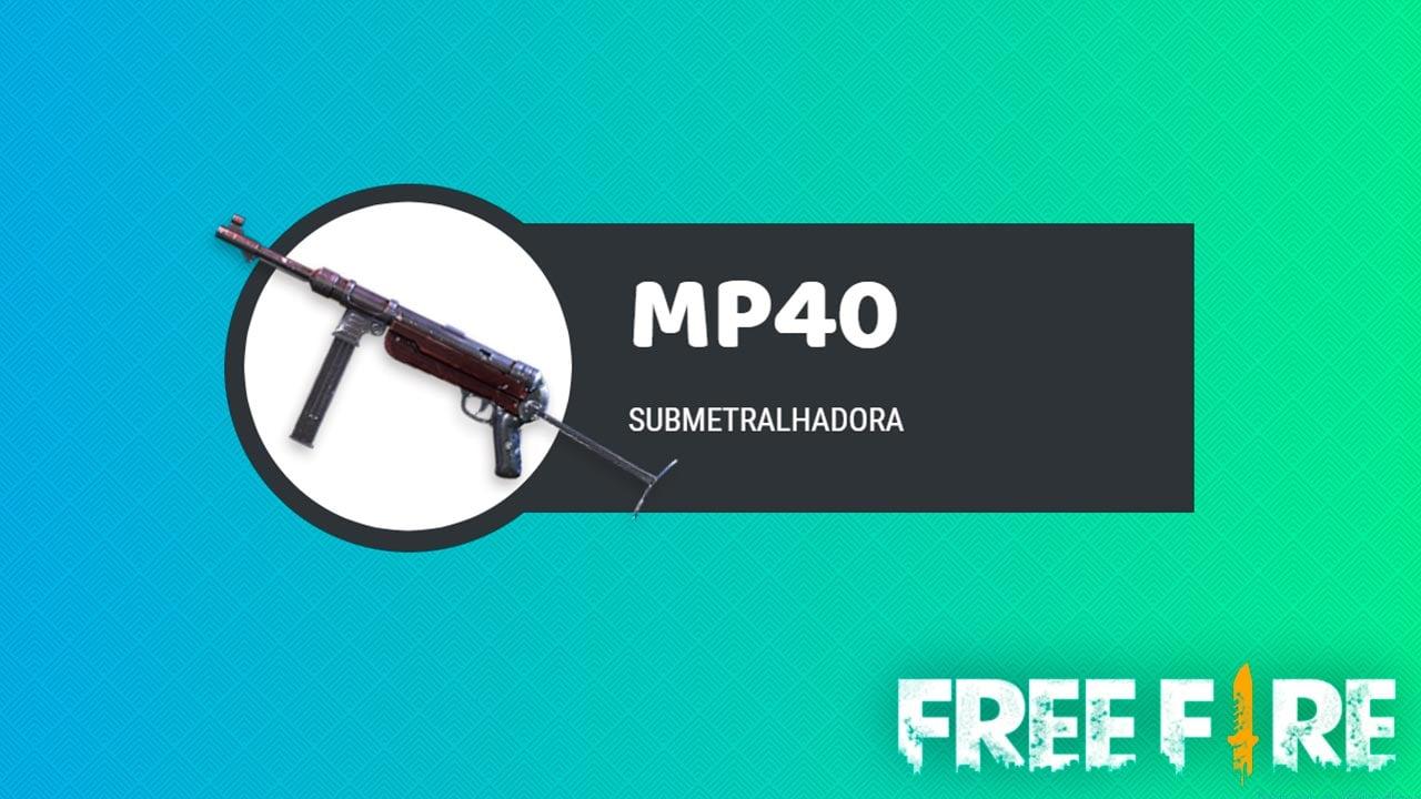 MP40 FREE FIRE