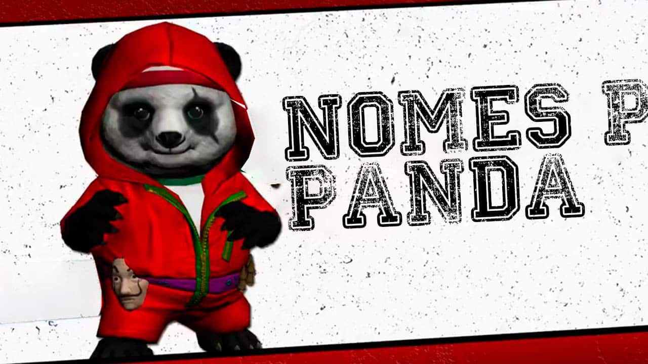 nomes para panda