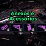 Free Fire: Guia dos Acessórios e Anexos das armas