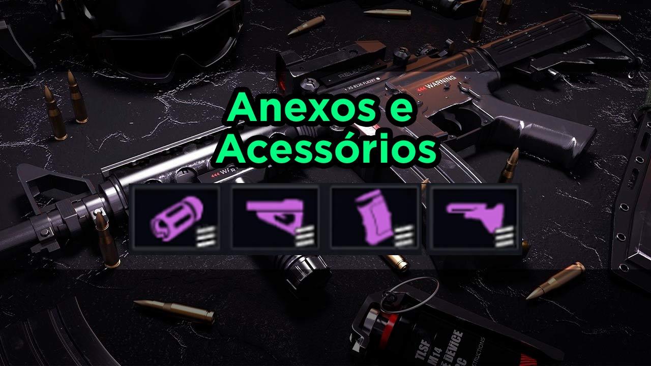 anexos e acessórios