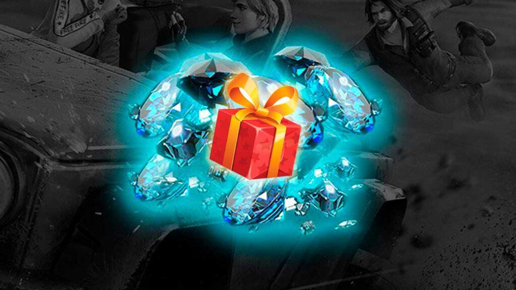 como enviar diamantes de presente