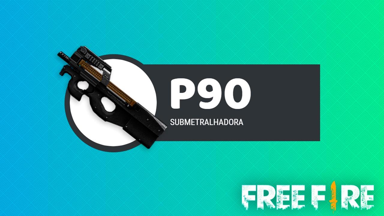arma p90 do free fire