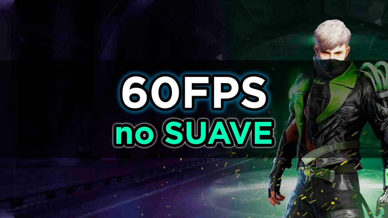 jogar free fire 60fps no suave
