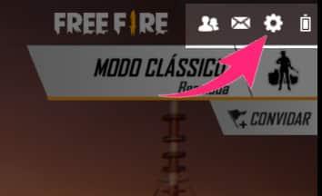 configurações do free fire