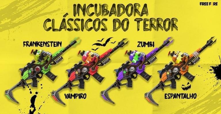 incubadora classicos do terror 1224697 Free Fire