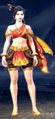 guerreira de garuda free fire
