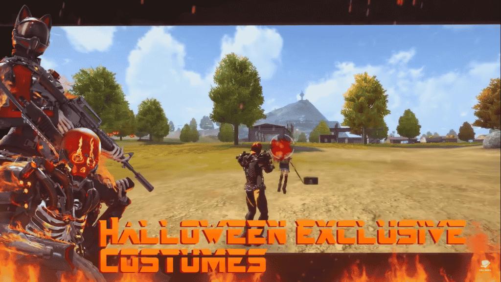 Hallowen royale ff Free Fire