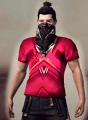 camisa 9 Free Fire