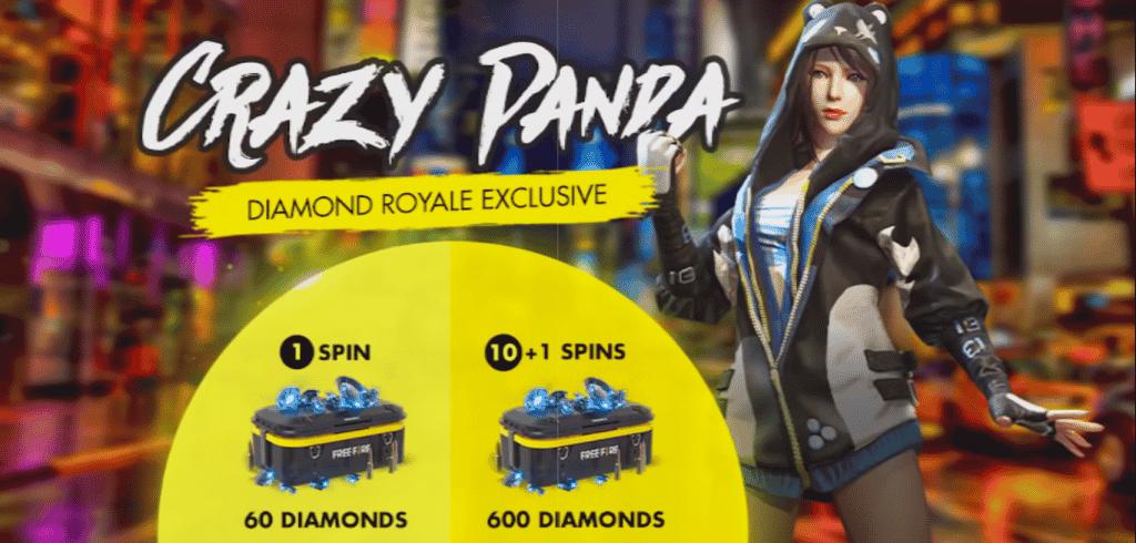 crazy panda 1 Free Fire
