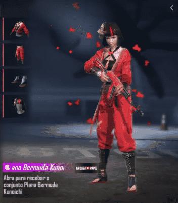 kunoichi ff Free Fire