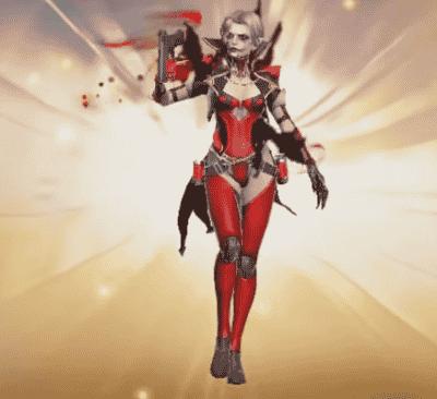 lady drakas 1 Free Fire