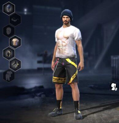 combinação de skin masculina Gorro Hipster