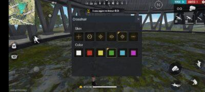 Skin de MIra Crosshair Free Fire Nicoo App