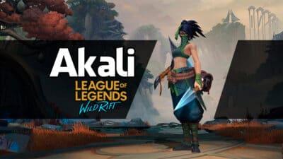 Akali Wild Rift dicas habilidades