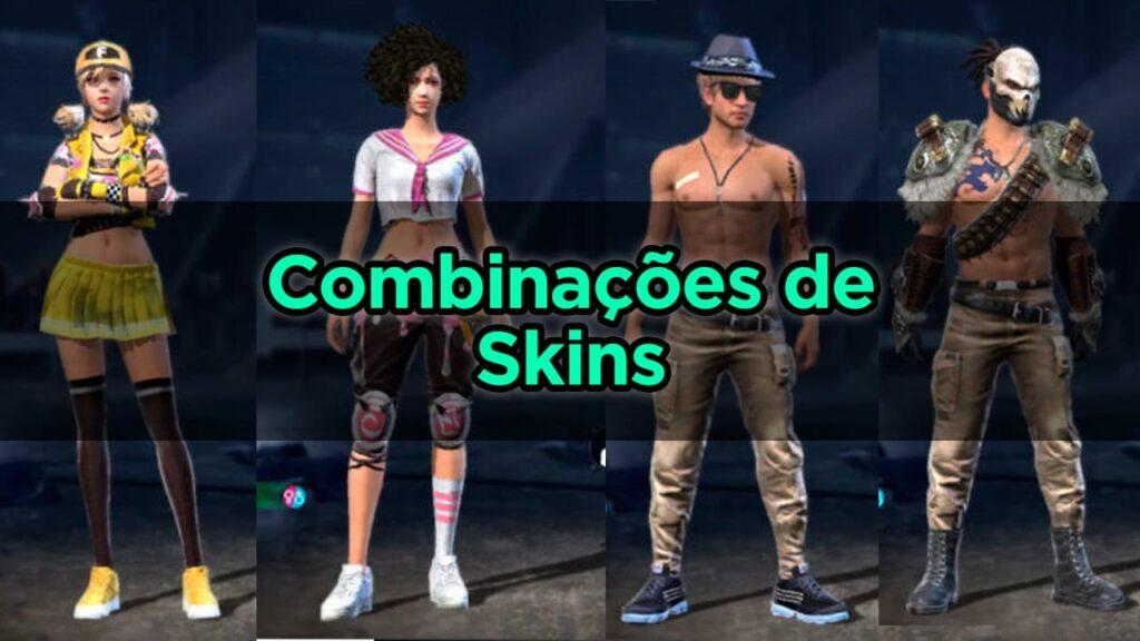 Combinações de Skins para Free Fire