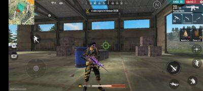 skin de arma m4a1 Free Fire