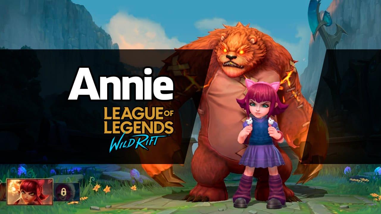 Annie Wild Rift