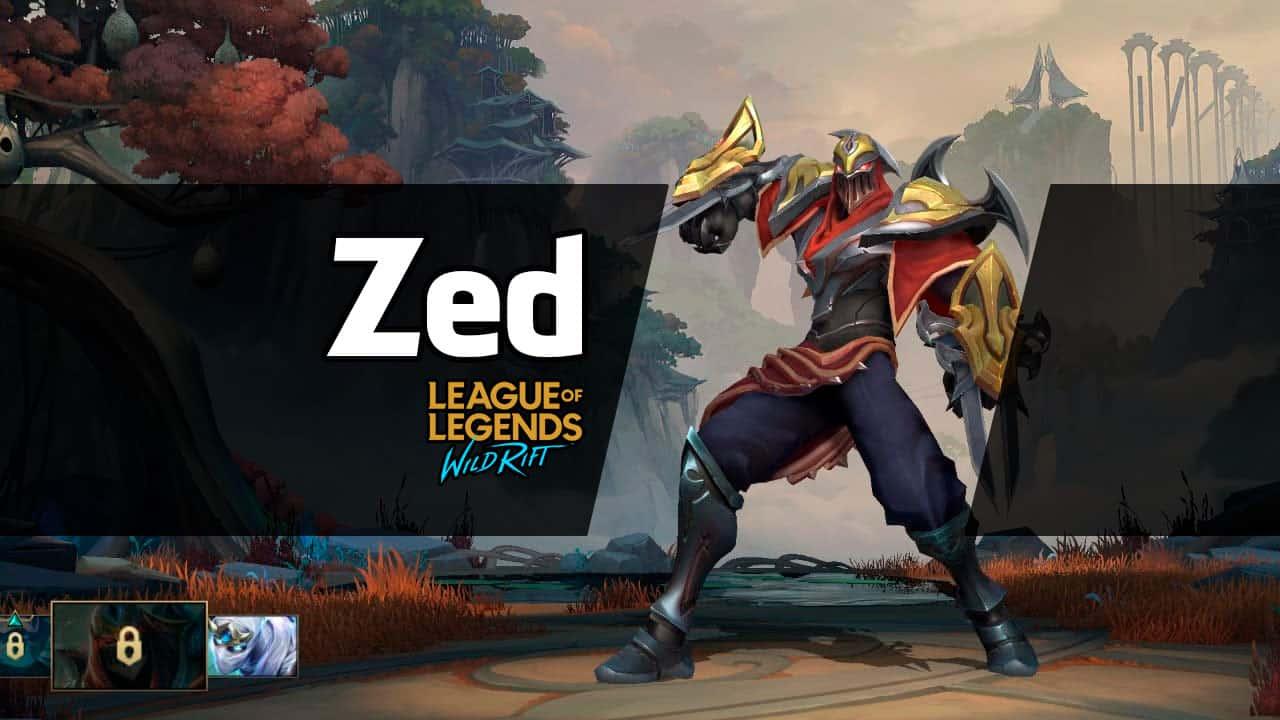 Zed Wild Rift