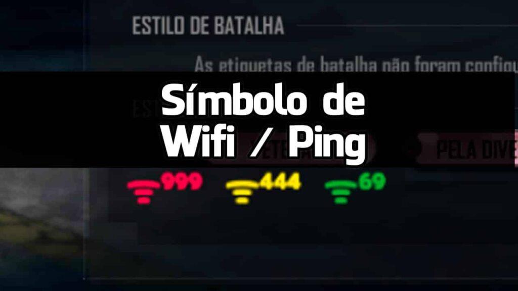 simbolo de wifi para nick bio ff